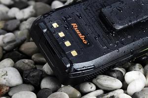 Image 5 - Оригинальный Runbo H1 IP67 прочный водонепроницаемый телефон Android DMR Радио УКВ PTT рация Smarpthone 4G LTE 6000 мАч MTK6735 GPS