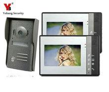Yobang Security Yobang Security Wired 7 inch TFT LCD Monitor Color Video Door Phone DoorBell Intercom