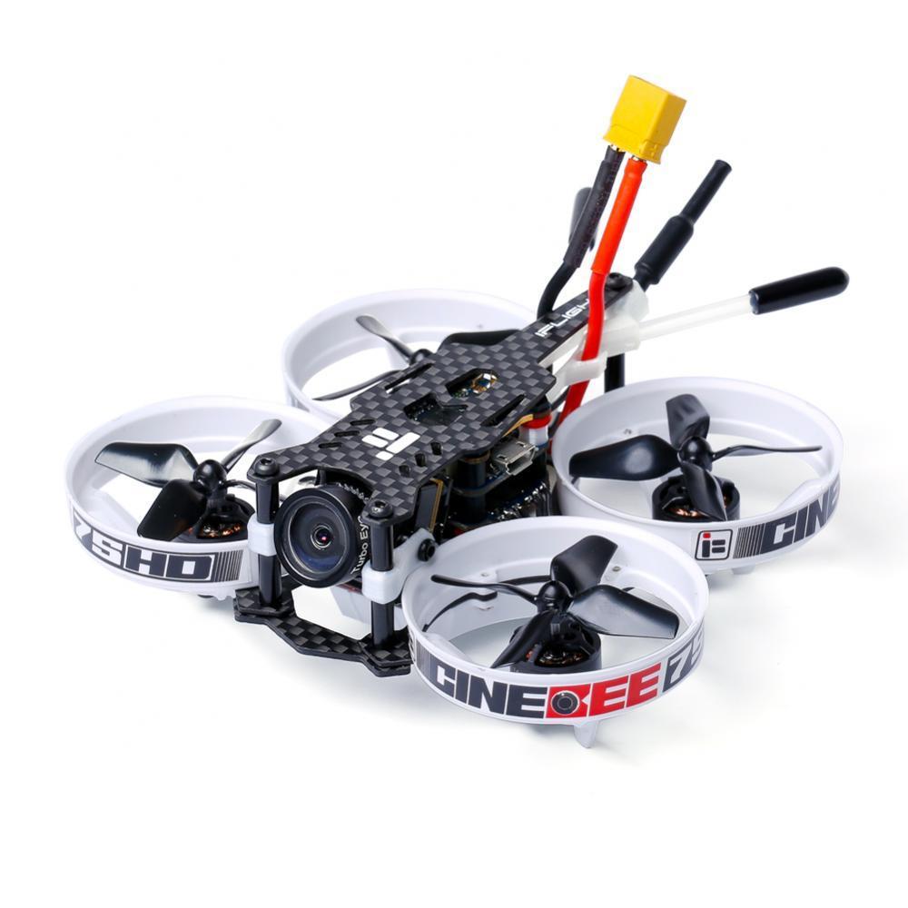 Oyuncaklar ve Hobi Ürünleri'ten Parçalar ve Aksesuarlar'de IFlight CineBee 75HD 75mm 2 3S Whoop ile Caddx Kaplumbağa V2 kamera/iFlight SucceX F4 Uçuş kule/1103 2 3S motor için FPV RC drone'da  Grup 1