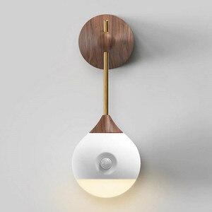 Image 5 - Youpin Sothing słoneczny inteligentny czujnik noc światło podczerwone indukcyjna USB ładowania wymienny lampka nocna dla inteligentnego domu #