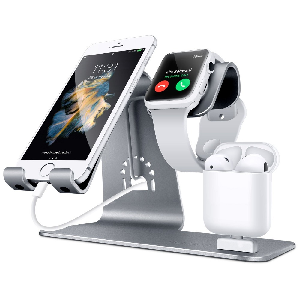 bestand 3 in 1 stand phone and watch desktop tablet. Black Bedroom Furniture Sets. Home Design Ideas