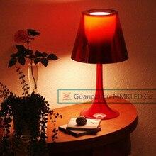 Высокое качество MMKLED акриловая лампа стол освещение современный минималистский спальня гостиная лампы переменного тока 110 В — 240 В питания