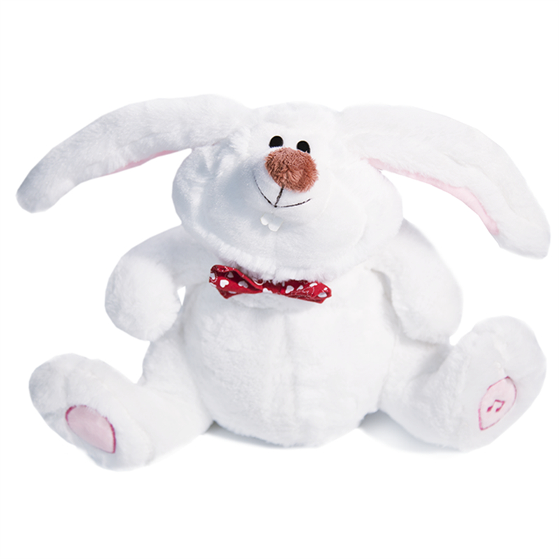 Easter Bunny Lovely Dancing Shaking Head Singing White Rabbit Adorable Children Gift Cute Large Ears Electric Toys