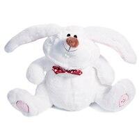 Lapin de pâques Belle Danse Secouer Tête Chant Blanc Lapin Adorable Enfants Cadeau Mignon Grande Oreilles De Lapin Électrique Jouets
