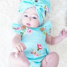 2pcs/Set Newborn Baby Clothes Sleeveless Girl Boy Clothes Casual Design Cotton