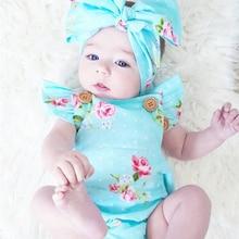 2pcs/Set Newborn Baby Clothes Sleeveless Girl Boy C