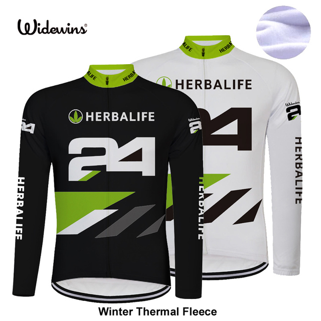 HERBALIFE 2018 Winter Long Pro Thermal Fleece Cycling Jersey Men Clothing  Bicycle Maillot women Ciclismo Bike Clothes 8009 f2aee09cf
