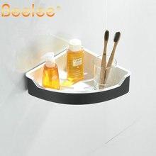 Beelee Wall Mount with Screws Shower Corner Caddy Stainless Steel ABS Bathroom Shower Corner Shelf BA9289N