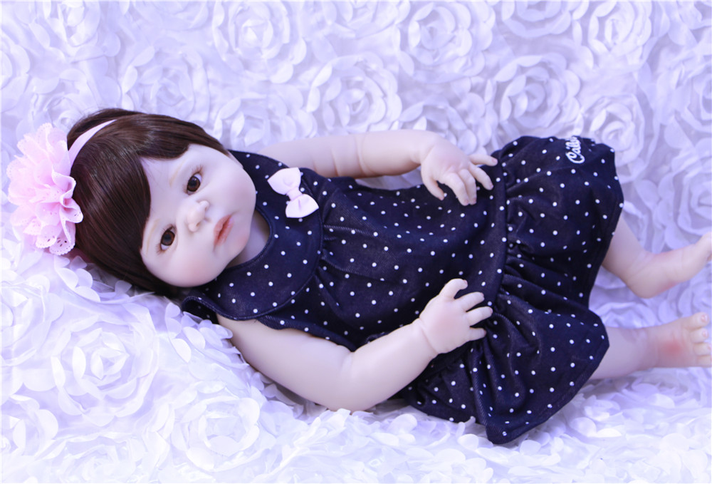 Bebe doll reborn 22 full silicone reborn baby dolls toys for children gift princess BJD alive newborn baby dolls alive Bebe doll reborn 22 full silicone reborn baby dolls toys for children gift princess BJD alive newborn baby dolls alive