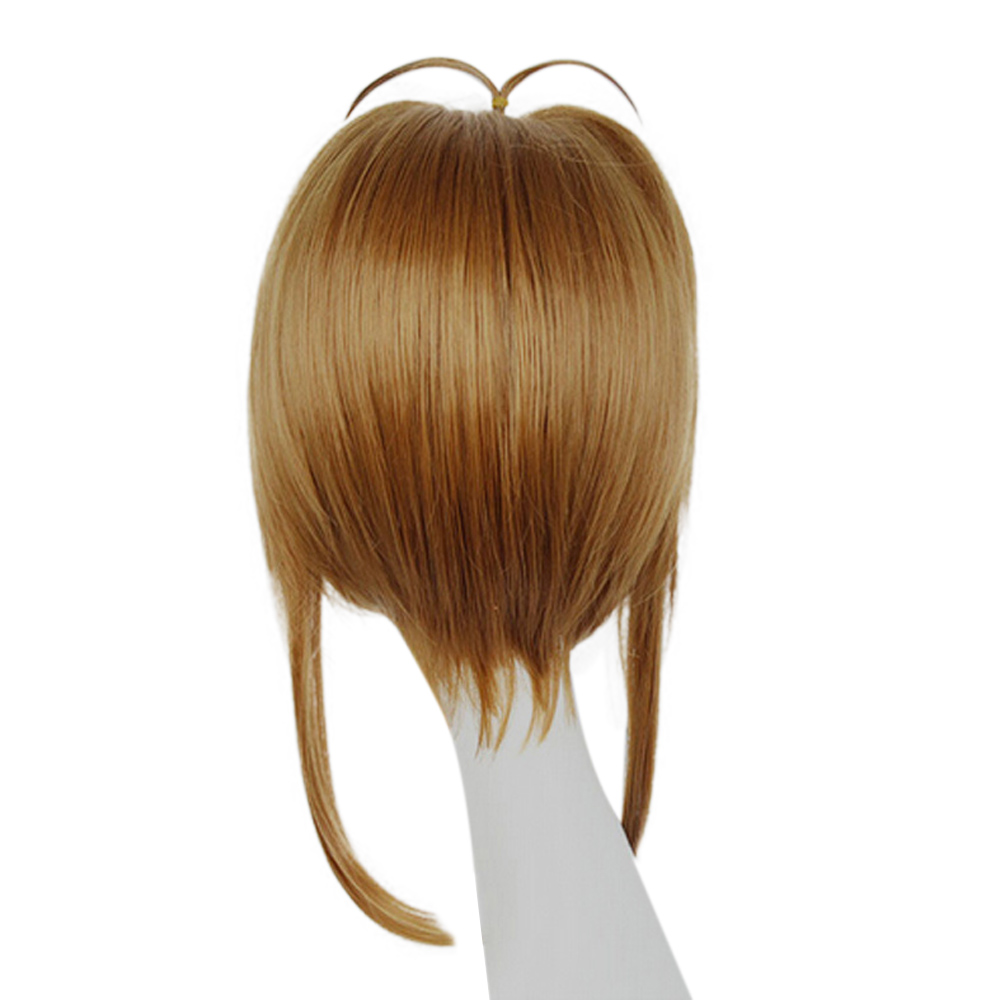 HAIRJOY Synthetic Hair Card Captor Sakura Cosplay Wig Costume Party Wigs Free Shipping 4