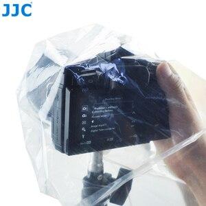 Image 5 - JJC 2 шт. водонепроницаемый чехол для объектива DSLR, защитный чехол от дождя, беззеркальных камер, дождевик для Canon, Nikon, Sony, Fuji, Panasonic, прозрачный