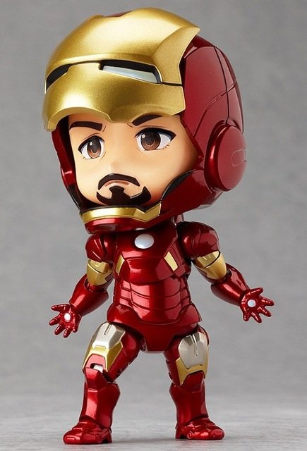 Nendoroid 284 Mark7  4″ Iron Man Tony Stark Set