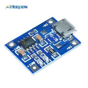 Image 4 - 10 個 TP4056 マイクロ USB 18650 リチウム電池の充電ボードプレート充電器モジュール + 保護デュアル機能 5V 1A