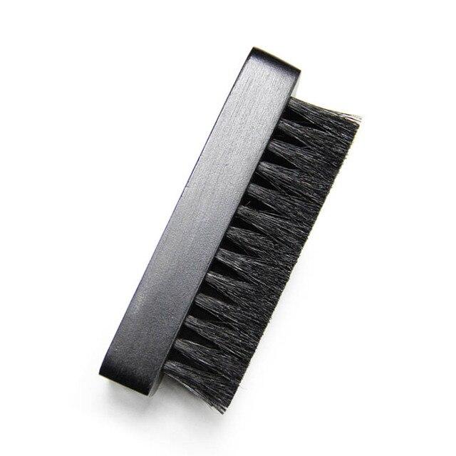 Nero Scarpe Brush Hog Setola Spazzole di Lucidatura In Legno Manico del Pennello