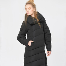 High quality 2016 white duck down bread ultra long down coat thickening women's outerwear
