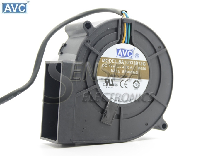 Original AVC BA10033B12G P050 9733 DC 12V 4.5A super violent Blower air dryer exhaust fan