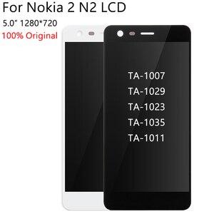 Image 4 - 100% 오리지널 노키아 2 N2 TA 1007 TA 1029 TA 1023 TA 1035 TA 1011 LCD 디스플레이 터치 스크린 디지타이저 어셈블리 교체