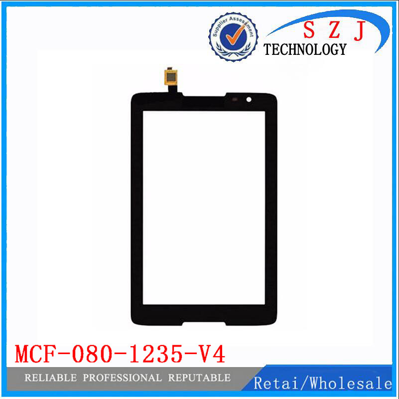 New 8'' inch touch screen digitizer MCF-080-1235 for Lenovo MCF-080-1235-V4 / V2 front touch glass panel Free shipping цена 2016