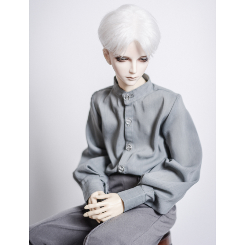 "BJD White Business Shirt OutfitsTOP For Male 1//3 24/"" 60CM SD DK DZ  AOD DD Doll"