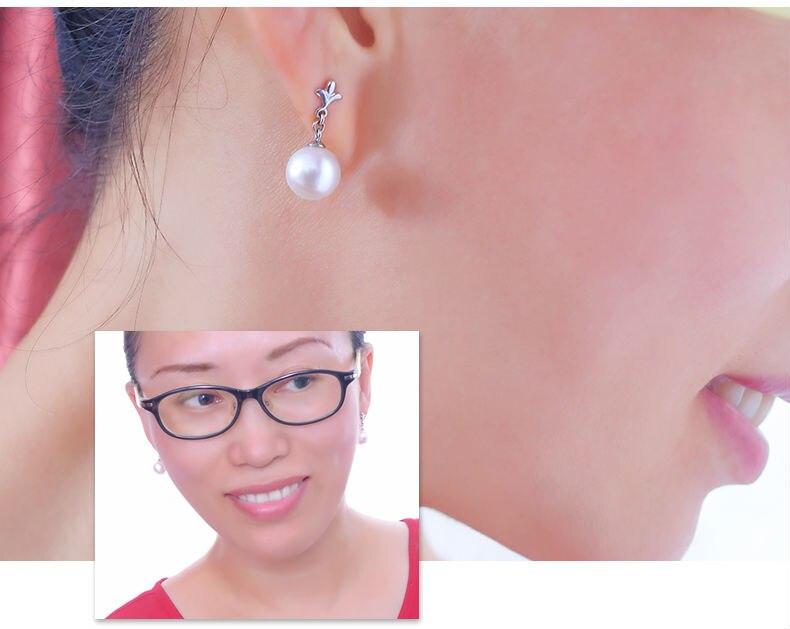 gold freshwater pearl earrings jewelry 66