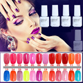 NO.01-24 5ML MINI PACK  2016 Brand New Gelpolish Soak Off UV Gel Polish BASE TOP COAT Primer Nail Art Color Foundation D10