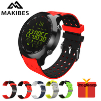 Makibes EX18C Sports Smart watch Bluetooth 4.0 Call reminder Remote control Stopwatch Pedometer 5 ATM Water Resistant smartwatch