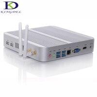 DHL free Micro computer mini pc thin client Core i3 5005U dual core Wifi HDMI USB 3.0 VGA,Full metal case