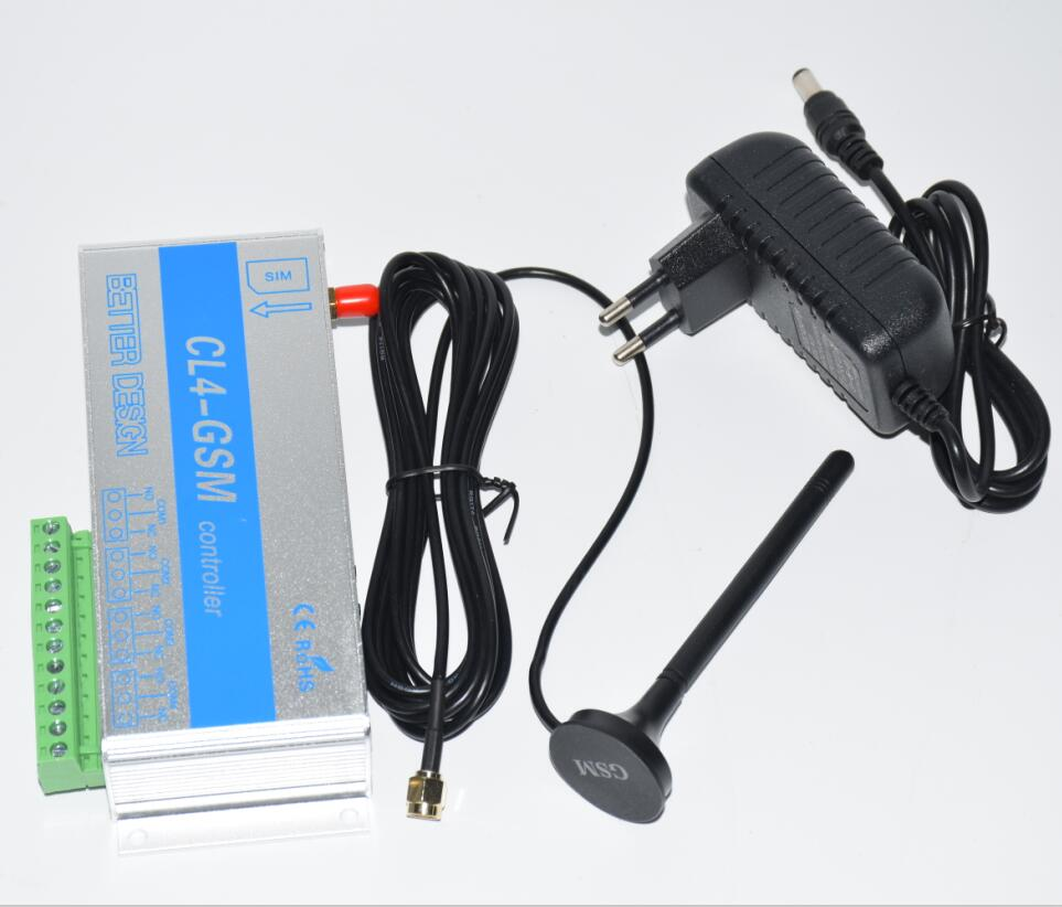 4 Output Gsm Relay Switch Call Sms Remote Control Light Curtains Garage Door Water Pump and