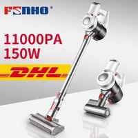 FUNHO 4 в 1 беспроводной ручной пылесос беспроводной 11000 Pa мощный всасывающий зарядный несколько щеток головок пылесборник