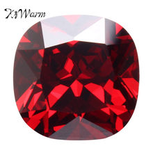 KiWarm 12.85CT 12 มม.Red Ruby Unheated 12MM (China)