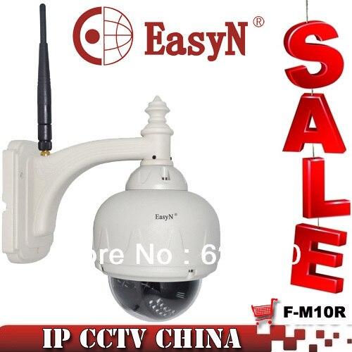 EasyN  Network IP Camera Pan/Tilt Wireless Wifi IR Night Vision Internet Weatherproof Outdoor CCTV Camera F-M10R