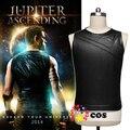 Jupiter Ascending cosplay superhero halloween costume for adult men Channing Tatum Caine Jupiter Ascending leather tank top