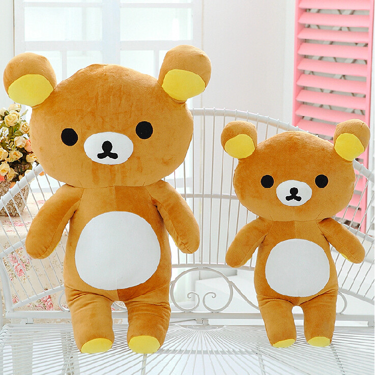 55cm Plush Stuffed Kawaii San-x Rilakkuma Relax Bear Soft Pillow Toy Doll Gifts