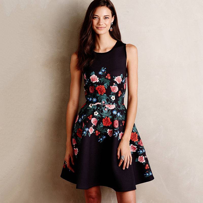 Compare Prices on Black Floral Dress- Online Shopping/Buy Low ...