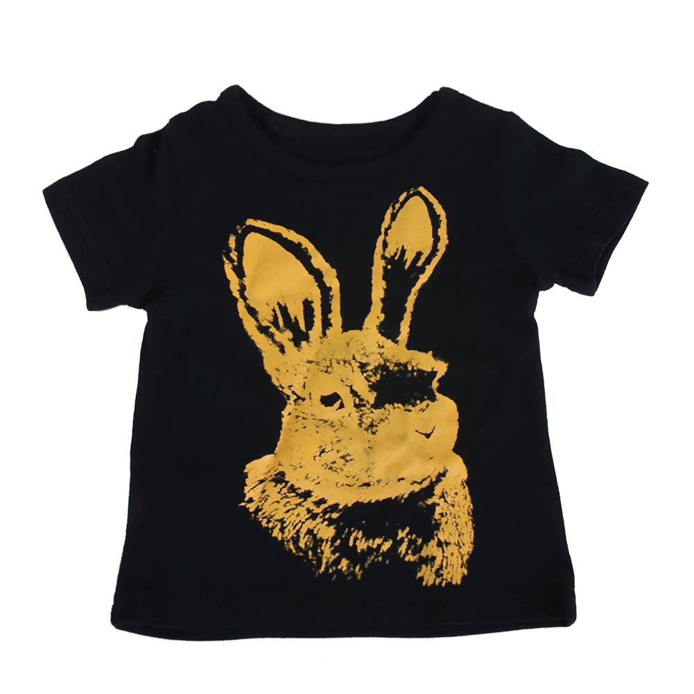 Детские кролика футболка верх + штаны (брюки) Экипировка для новорожденных Обувь для мальчиков Обувь для девочек мультфильм Повседневная од...