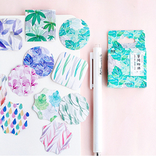 45pcs/pack Lovely Grassy story Adhesive Decoration DIY Diary Stationery Stickers Children Gift