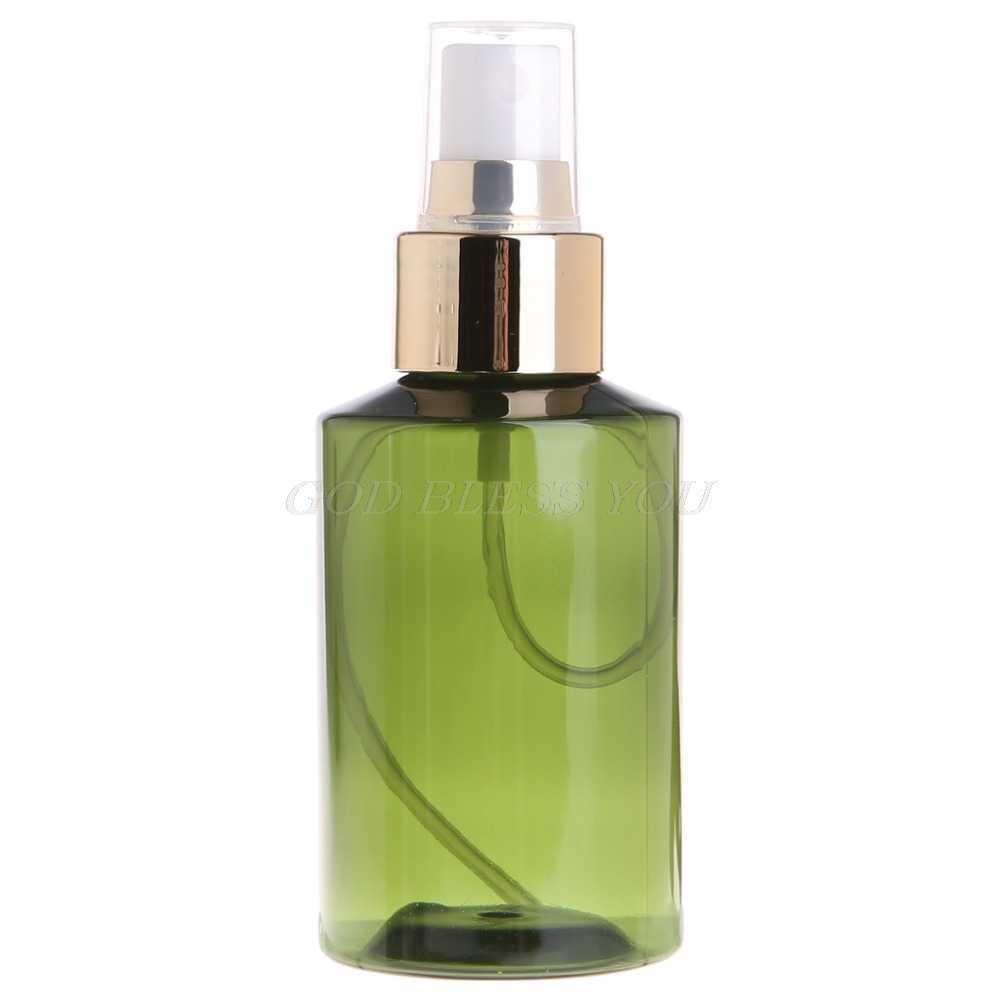 eb954858ee35 Hot 100/150/200ml Portable Plastic Refillable Bottles Essential Oil ...