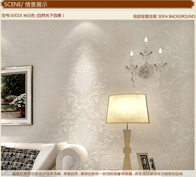 Ξدسم الأبيض والضوء الأصفر خلفيات خلفيات ورق الحائط لفة ل غرف معيشة