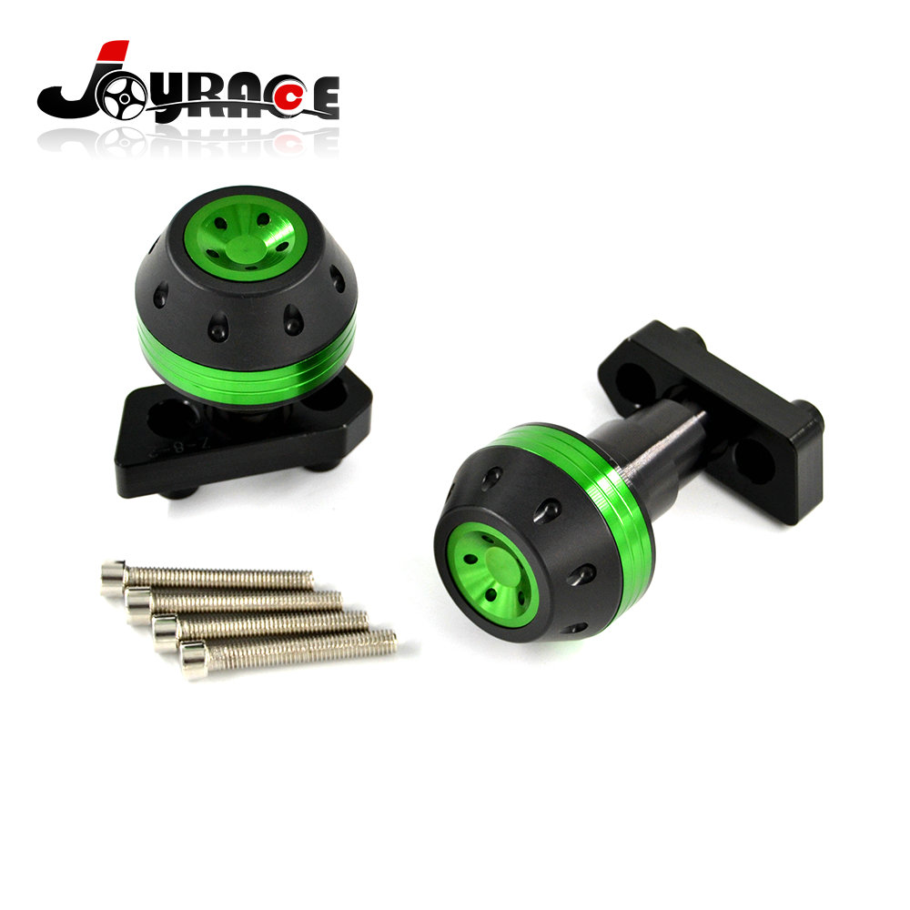 CNC Aluminum Motorcycle Frame Sliders Crash Protector Adapter Kit for Kawasaki Z800 motorcycle cnc aluminum frame sliders crash pads protector suitable for kawasaki z800 2012 2013 2014 2015 2016 green