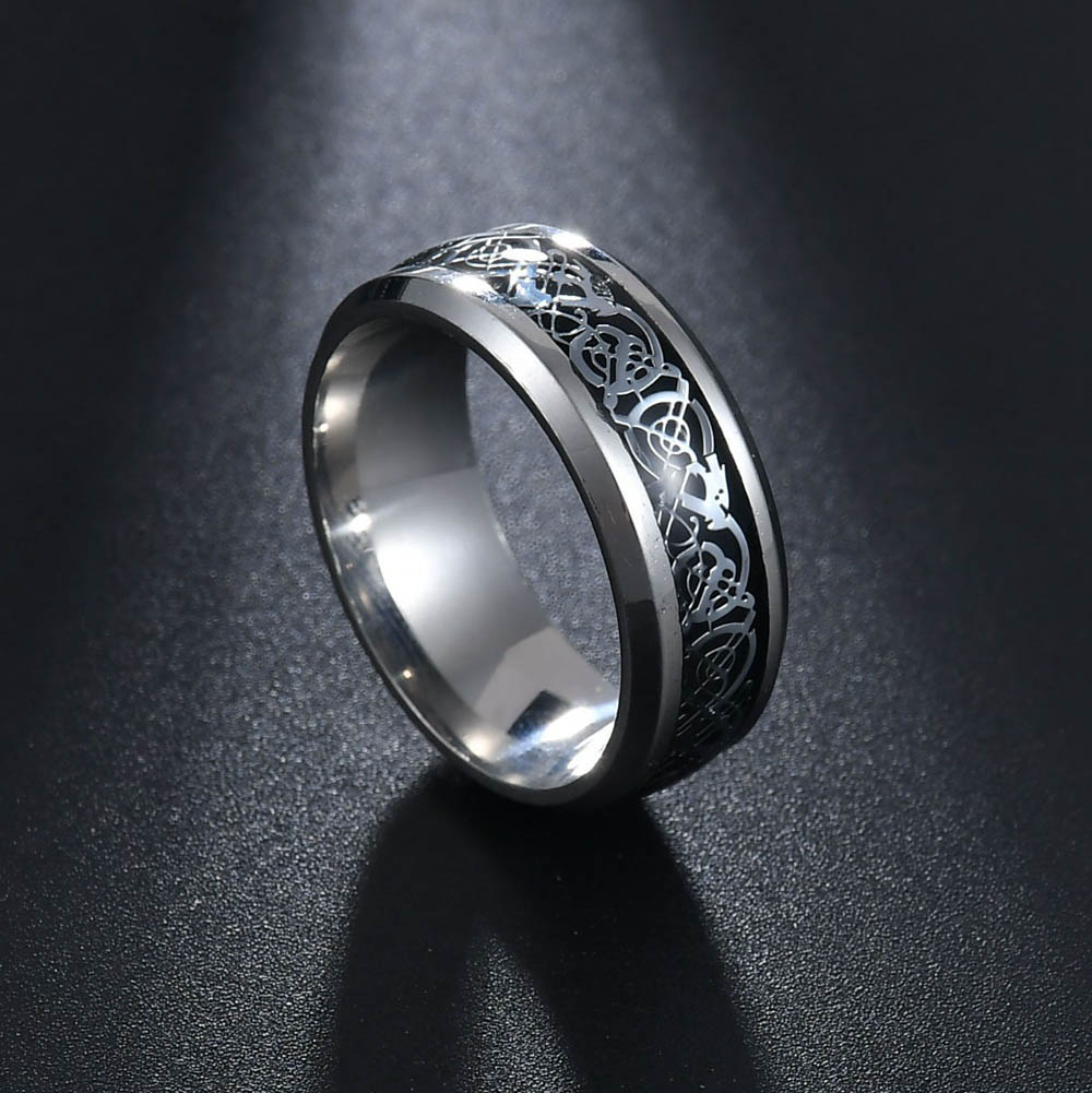 Mms 6 Color Vintage 316l Stainless Steel Finger Rings Mens Jewelry For Men Wedding Band Male: Color Man Wedding Band At Reisefeber.org
