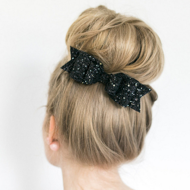 Hair Clip with Bow Tie Decoration Hair Ornaments Hairpins