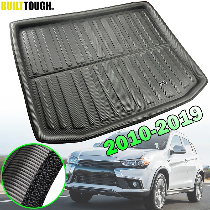 For Mitsubishi Outlander Sport RVR ASX 2010   2019 Boot Cargo Liner Tray Trunk Mat Luggage Floor Carpet 2011 2012 2013 2014 2015