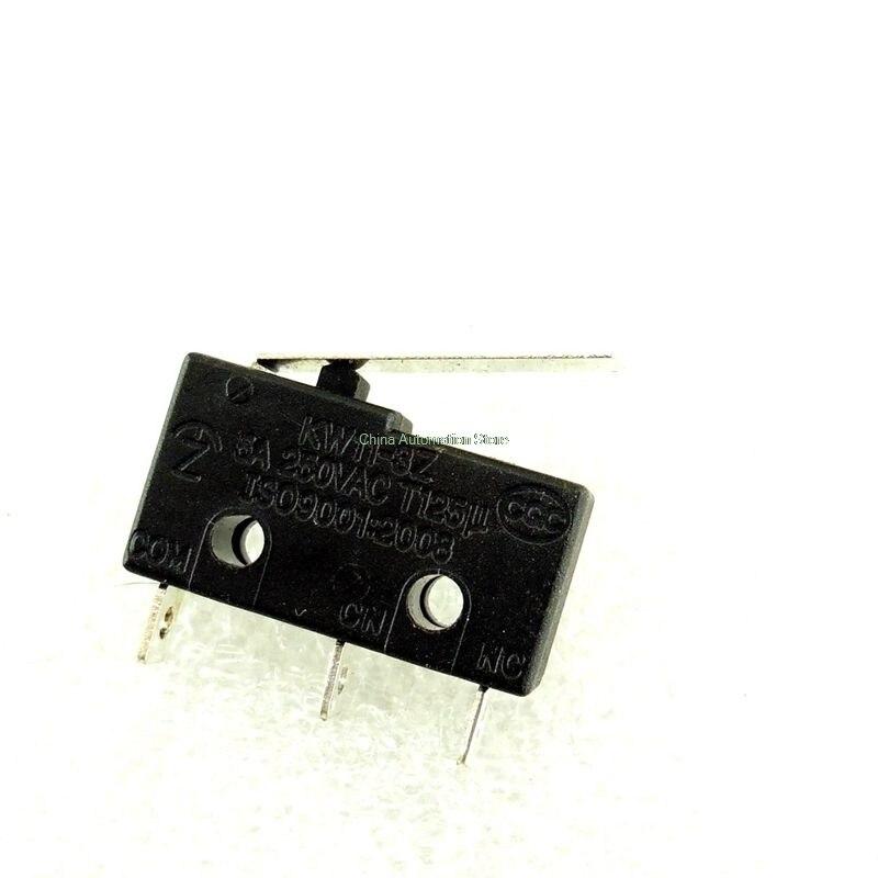 10 шт. концевой выключатель, 3 pin n/o n/c высокое качество все новые 5A 250VAC KW11-3Z-2 микро-переключатель Прямая продажа с фабрики