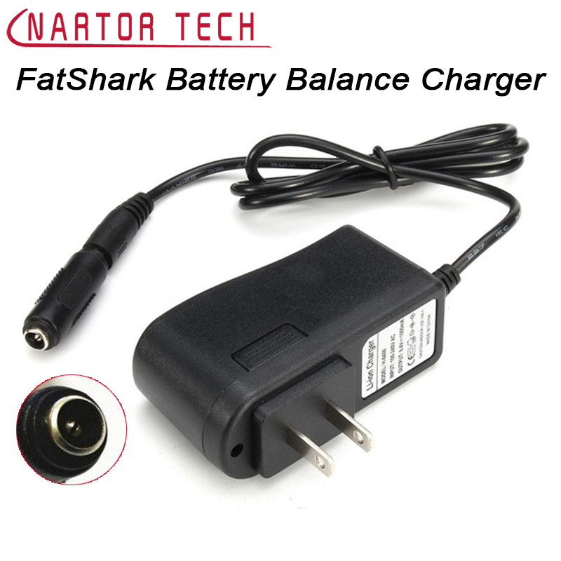 Free Shipping FatShark HD2 / V3 Video Glasses Lithium Battery Balance Charger 110-220V Adaptive Charge Current of 1A