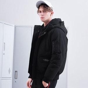 Image 3 - Pioneer camp novos homens jaqueta de inverno marca roupas moda grosso quente casaco masculino de alta qualidade parka masculino preto verde amf801453