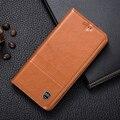 Ímã do vintage couro genuíno case para asus zenfone pegasus 3x008 luxo capa de couro do couro do telefone móvel
