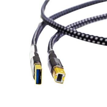ハイファイ MPS HD-770 ハイファイ 99.9997% OCC 24 18K 10u ゴールドメッキプラグ USB2.0 3.0 コネクタオーディオケーブル DAC PC オーディオデータケーブル - DISCOUNT ITEM  0% OFF All Category