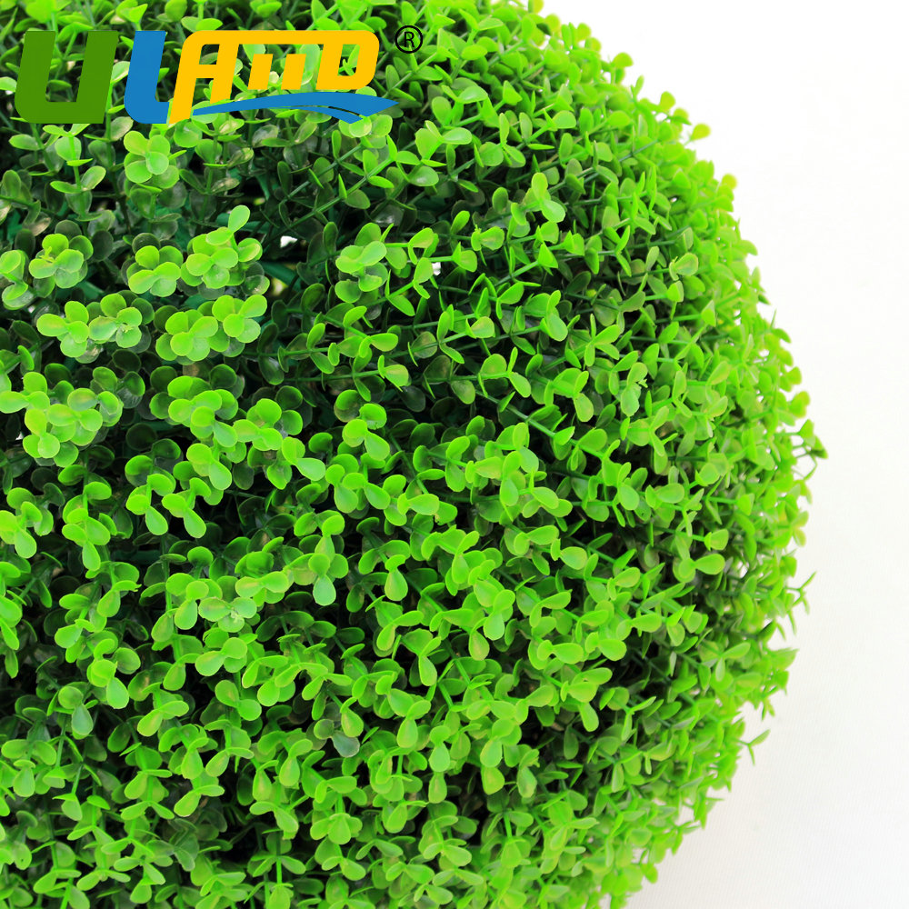 ULAND Artificial Topiary Balls Boxwood Wreath 28cm Diameter Wedding ...