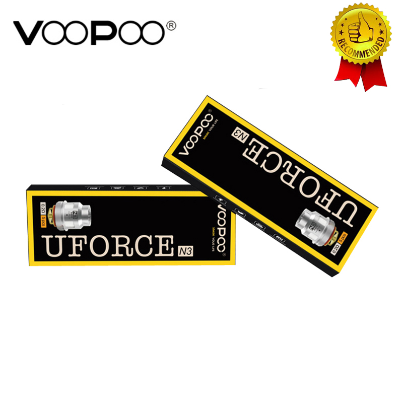 5pcs/lot New VOOPOO UFORCE Coil P2/N1/N2/N3/U2/U4/U6/U8/D4 for Voopoo Drag Kit Voopoo Drag Mini VS IJOY X3 Coil(China)