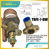 237kw disassemble R23 thermal exansion valve matches 220m3/h compressors, such HSN70 screw type / HG8/2470 4S reciprocating type
